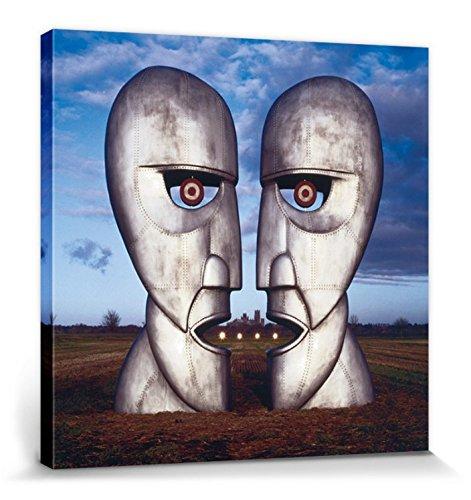 1art1 Pink Floyd - The Division Bell Cuadro, Lienzo Montado sobre Bastidor (40 x 40cm)
