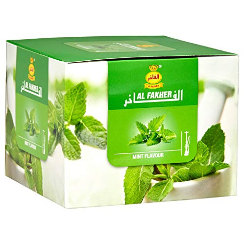 AL-Fakher Mint Premium Flavour/Shisha 1-KG for Hookah/Hukka/Hookha, with Free Charcoal