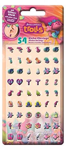 Craze Toys 53882Trolle Aufkleber Ohrringe Spielzeug
