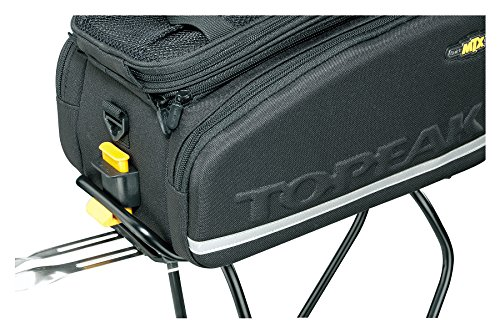 51KlWAkZ1bL Topeak MTX Trunk Bag DXP Bicycle Trunk Bag with Rigid Molded Panels