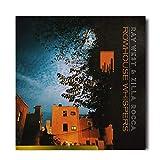 Ray West Zilla Rocca Rowhouse Whispers Copertina Album Poster Copertina Album Decorazione Opera d'Arte Stampa su Tela -70x70cm Senza Cornice