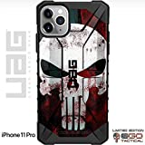 UAG Apple iPhone 11 Pro [5.8' Screen] Limited Edition Case Urban Armor Gear by EGO Tactical - Black, Bloody Punisher