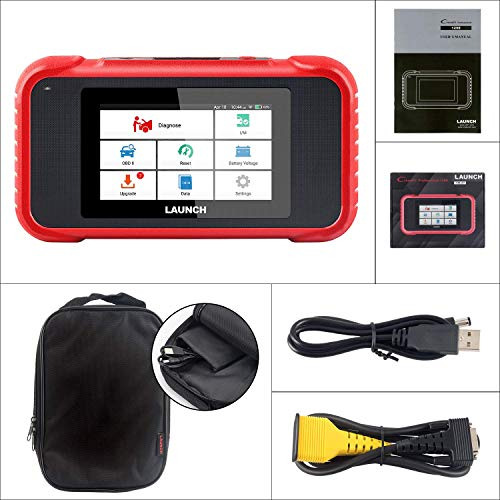LAUNCH X431 CRP129E Obd2 Touchscreen Codeleser Scanner One Click Update Support-Engine ABS SRS at + Öllampen-Reset, EPB-Reset, SAS-Rest, Gaspedal-Reset, TMPS-Reset