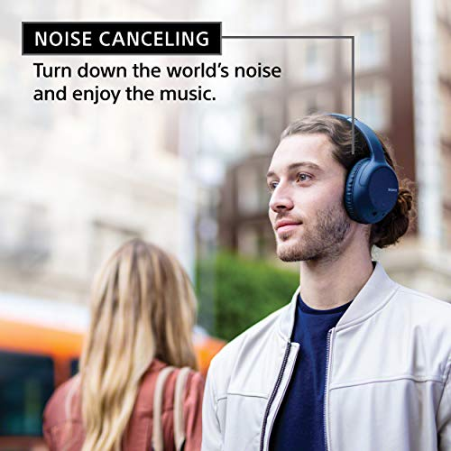 Sony Noise Cancelling Headphones WHCH710N: Wireless Bluetooth Over The Ear Headset with Mic for Phone-Call, Blue (Amazon Exclusive) (WHCH710N/L) 8