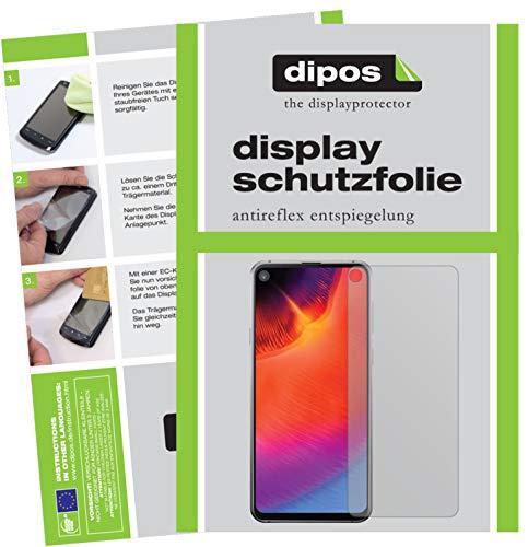 dipos I 6X Schutzfolie matt kompatibel mit Samsung Galaxy A8s Folie Bildschirmschutzfolie (3X Vorderseite + 3X Rückseite)