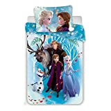 Disney Frozen familly set copripiumino in cotone