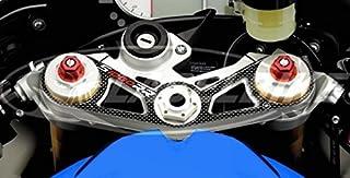 GUAIMI Protecteur de roue de glisseurs de collision de fourche dessieu avant pour BMW S1000R de 2014 S1000RR jusquen 2018