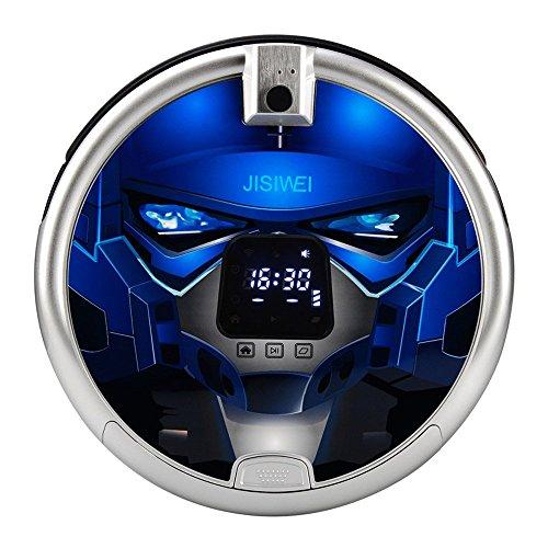 JISIWEI S+ - Robot Aspirador con Cámara 1080P Wifi Infrarrojo ...