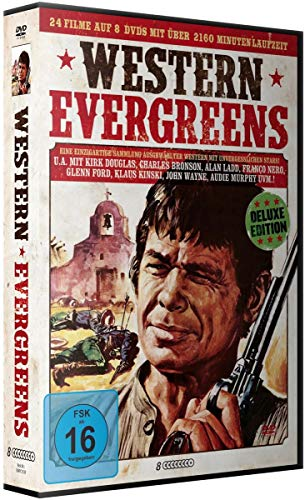 Western Evergreens - Limited Deluxe Box-Edition (8 DVDs plus Sheriff Stern aus Metall)