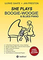 SHE Plays Boogie-Woogie & Blues Piano