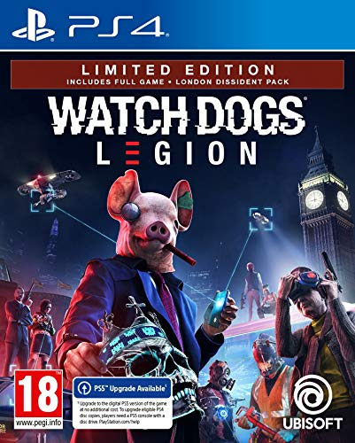 Watch Dogs Legion Limited Edition (PS4)