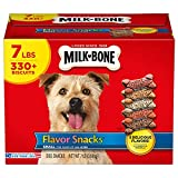 Milk-Bone Flavor Snacks Dog Treat, Small/Medium Biscuits, 7-Pound