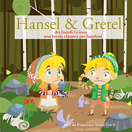 Hansel e Gretel audiobook cover art