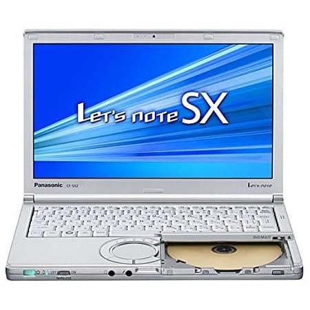 【中古】 Let's note(レッツノート) SX2 CF-SX2ADHCS / Core i5 3340M(2.7GHz) / HDD:250GB / 12.1インチ