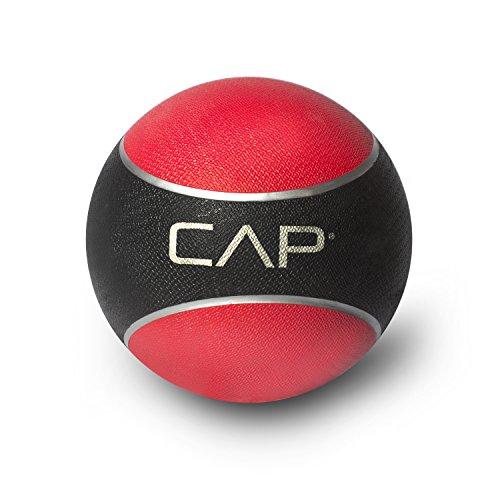 CAP Barbell Rubber Medicine Ball, 2-Pound, Teal