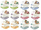 Applaws Peel and Serve Cat Food in Broth 6 Flavor Variety Bundle, 2.12 Ounces Each (12 Pots Total) by Applaws Layers