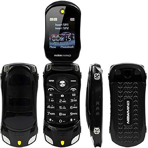 JJA BROS F15 MINI Tiny Luxury Sports Car Style Flip Camera Cell Mobile...