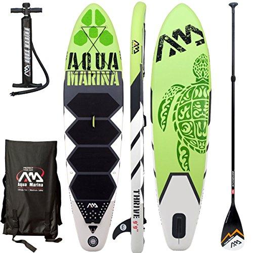 Aqua Marina Thrive SUP, tavola da Surf, Thrive, Board+Standard Paddle, 43.5x25.5x83cm