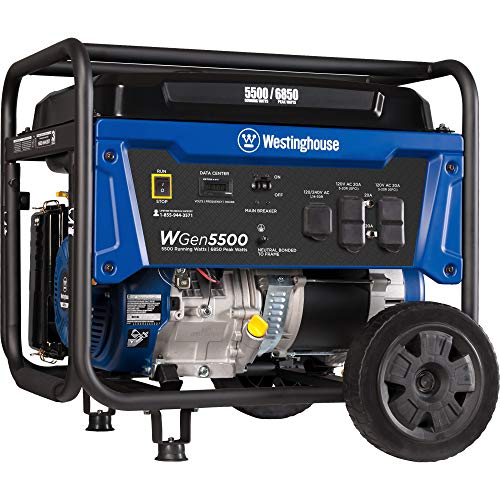 Westinghouse WGen9500DF Dual Fuel Generator-9500 Rated...