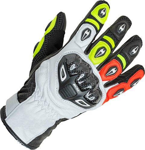Büse Airway Sport Motorrad Handschuhe 10 (XL) Schwarz/Weiß/Gelb/Rot
