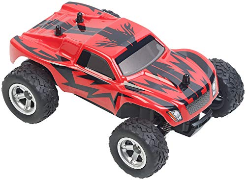 RC Auto kaufen Monstertruck Bild 2: Simulus Monstertruck: Ferngesteuerter Monster-Truck Land Monster, 2,4-GHz-Funk, 15 km/h (RC Car)*