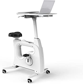 FLEXISPOT Home Office Standing Desk Exercise Bike Height Adjustable Cycle - Deskcise Pro
