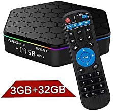 [Mega1Comp]- T95Z Plus Android 7.1 TV Box Amlogic S912 Octa Core 3GB RAM 32GB ROM Storage Dual Band WiFi 2.4GHz/5.0GHz Support BT Gigabit 1000M LAN 4K HD Movies Andorid TV Box Mini PC