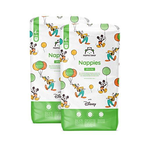 Mama Bear - Disney - 160 Ultra-Dry-Windeln - Größe 4+ (9 - 15 kg) - MONATSBOX