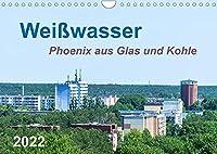 Weisswasser - Phoenix aus Glas und Kohle (Wandkalender 2022 DIN A4 quer): Sichtbare Tradition einer Industriestadt (Monatskalender, 14 Seiten )