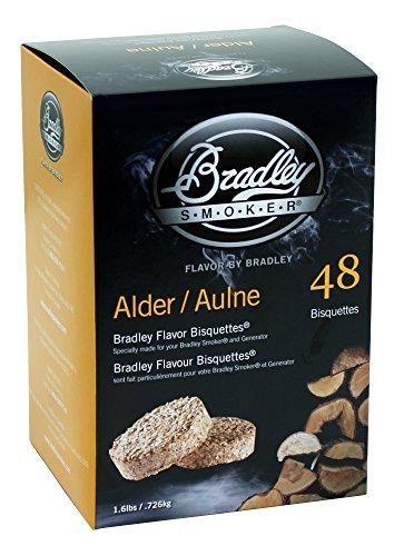 Bradley Smoker BTAL48 Erle Bisquetten 48 Pack