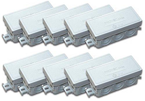 Protec.class Kartons 4389, grau, 10 Stück FR-Abzweigdose