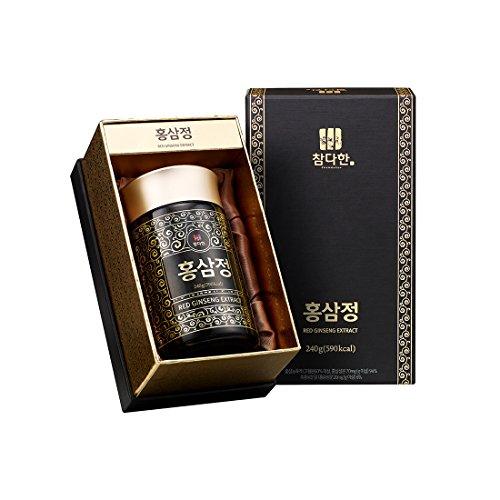 Chamdahan Roter Ginseng Jong-Extrakt Korean 1% Roter Ginseng/33 mg Ginsenoside/keine künstlichen Inhaltsstoffe/240G