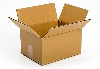 Pratt PRA0029 100% Recycled Corrugated Cardboard Box, 10