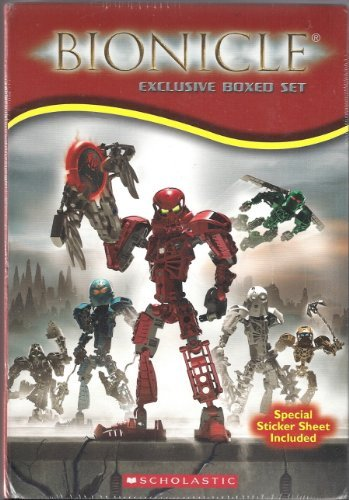Bionicle Boxed Set: Chronicles 1-4 ; Adventures 1-3