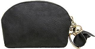 GUMAOPAJIAAAqb Monederos de Mujer, Women Leather Small Mini Wallet Holder Zip Purse Clutch portefeuille Hot sale (Color : ...