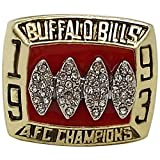 GF-sports store Championship Ring for 1993 Buffalo Bills Collectible Jewelry
