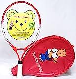 Teddy Tennis Raquette de tennis pour enfant 19' Idéal pour les enfants de 4 à 6 ans
