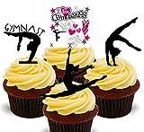 Made4You - Adornos comestibles para tartas (24 unidades)