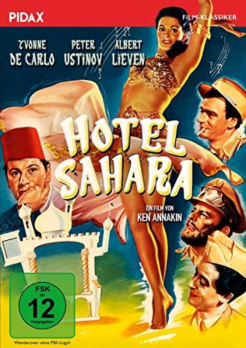 Hotel Sahara / Bezaubernde Komödie mit Peter Ustinov und Yvonne De Carlo (Pidax Film-Klassiker)
