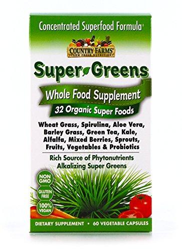 Country Farms Super Greens Vegicaps…