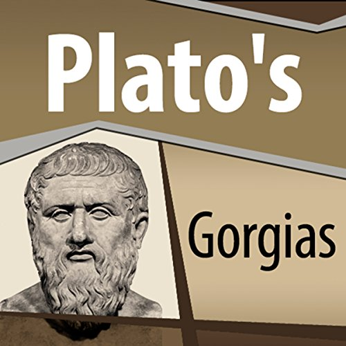 Plato's Gorgias audiobook cover art