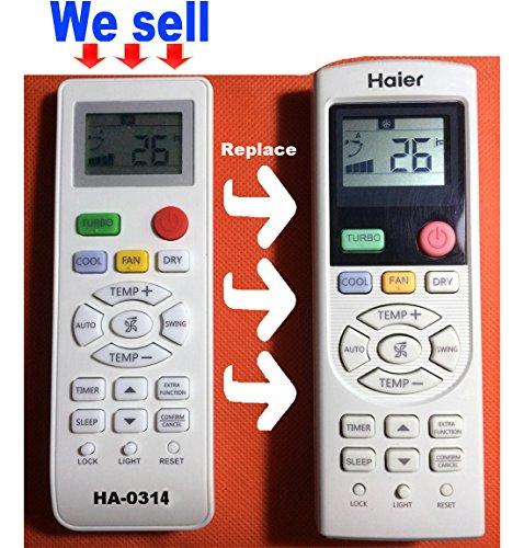De repuesto para Haier aire acondicionado Control Remoto Modelo yl-hd01yl-hd02yl-hd03yl-hd04yl-hd05yl-hd06yr-hd01yr-hd02yr-hd03yr-hd04yr-hd05yr-hd06yr-hd * * yl-hd * *