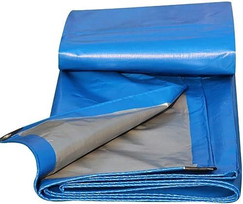 LZXTARPAULIN Bache Camping, Feuille De Prougeection Solaire Bleu Couvre La Bache Noor pour Tente de Plein air (Couleur   bleu, Taille   5×6m)
