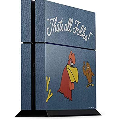 Skinit Decal Gaming Skin for PS4 Console - Officially Licensed Warner Bros Foghorn Leghorn Thats All Folks Design