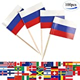 JBCD 100 Pcs Russia Flag Tooth...