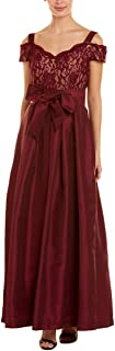 Women's One Piece Off The Shoulder Long Missy Ball Gown Dress