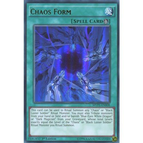YuGiOh : MVP1-EN008 1st Ed Chaos Form Ultra Rare Card - ( Yu-Gi-Oh! Single Card ) by Deckboosters