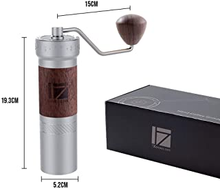 1Zpresso K-PRO Manual Coffee Grinder with Intuitive Numerical External Adjustable Setting, Assembly Consistent Grind Stainless Steel Conical Burr, Capacity 35g