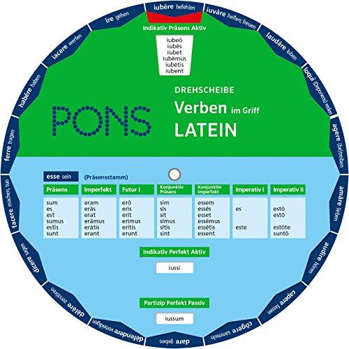 PONS Drehscheibe Verben Latein im Griff! Die unregelmäßigen Verben mit einem Dreh nachschlagen.