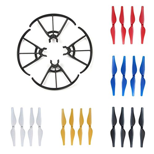 Joint Victory Propeller Guards Protectors Shielding Ring with Foldable Landing Gear Leg Extenders 2 in 1 Combo for DJI MAVIC PRO//PLATINUM//ALPINE WHITE Sunnylife F13901